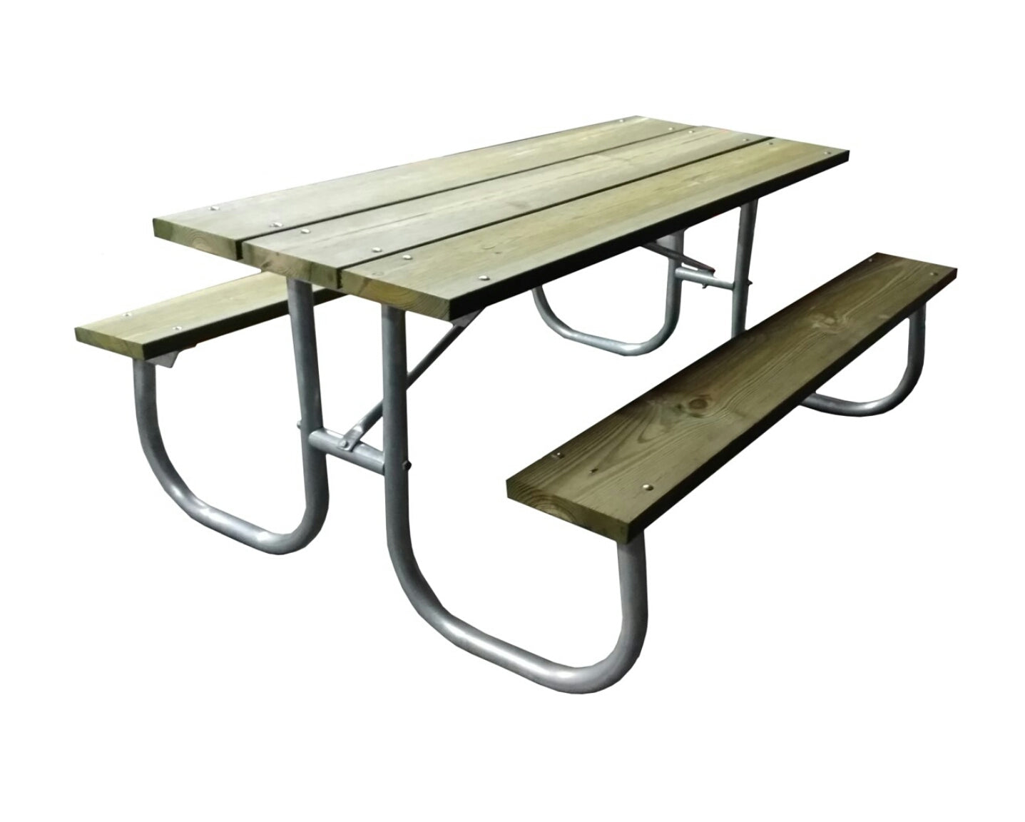 Picnic Table Commercial Style With Aluminum Frame Rosendale Picnic - Commercial picnic table frames