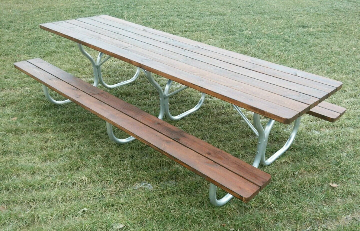 Aluminum Long Picnic Table Frame  Frame Only ...