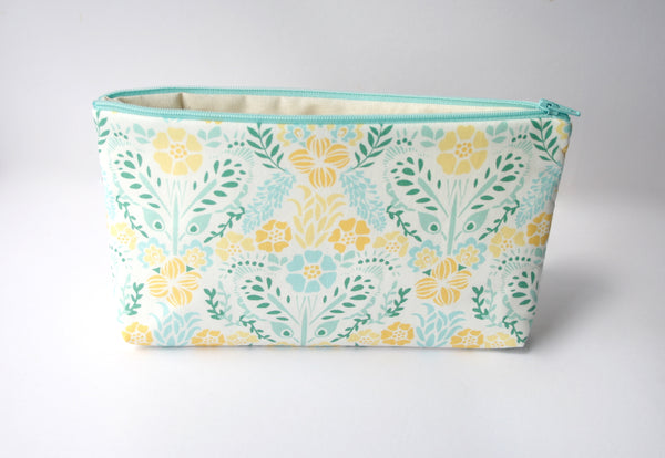 Pencil Case - Yellow Flowers