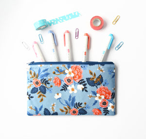 Rifle Paper Co Pencil Case - Cherry Plum Tree