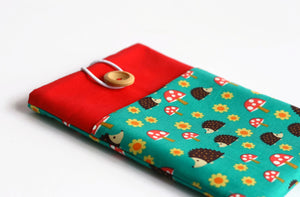 Hedgehog iPad Pro Sleeve - Cherry Plum Tree