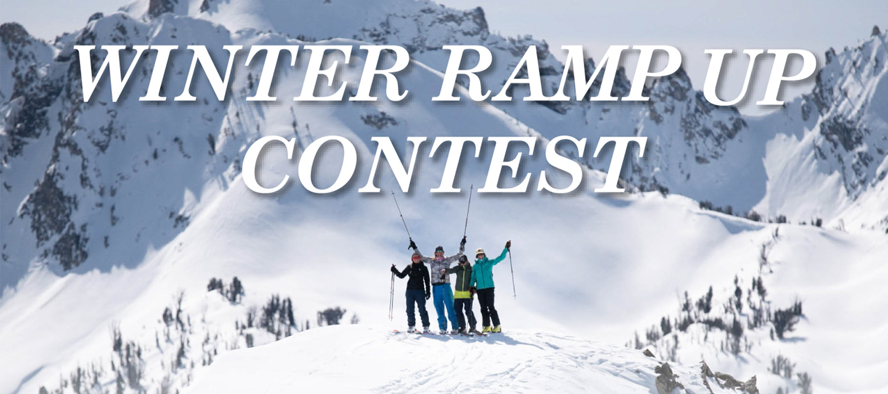 GIVEAWAY ALERT: Ramp Up for Winter!