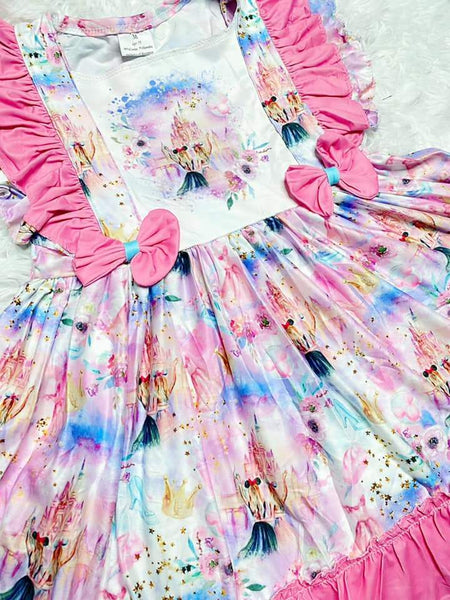 Disney Vacation Fairytale Twirl Dress - Nico Bella Boutique