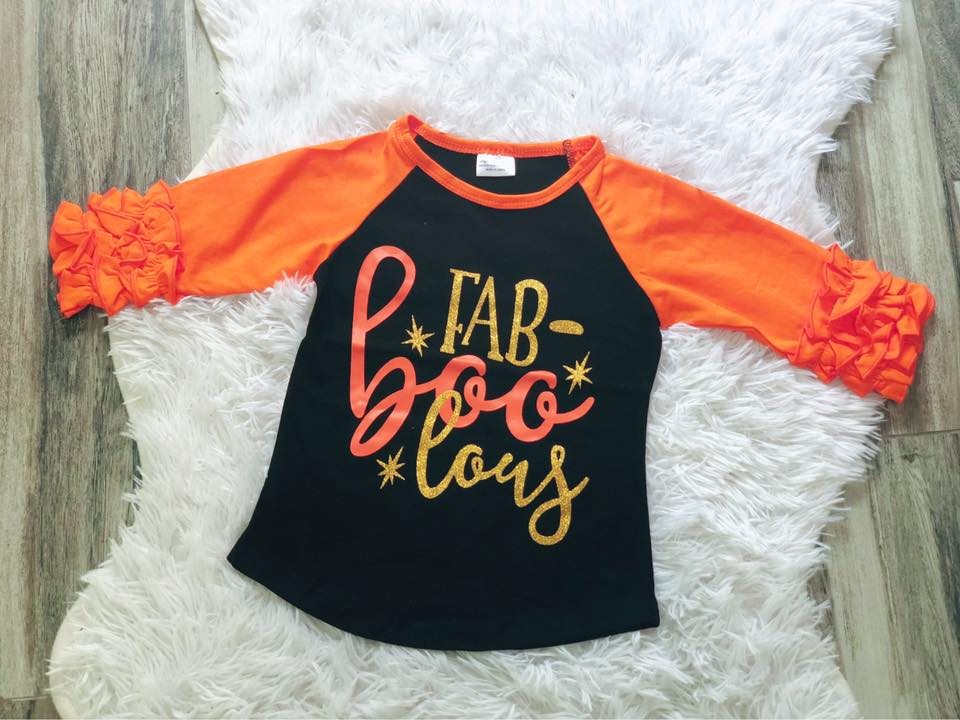 FabBOOlous Icing Raglans - Nico Bella Boutique