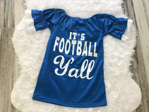 It's Football Y'all Jersey Top - Nico Bella Boutique