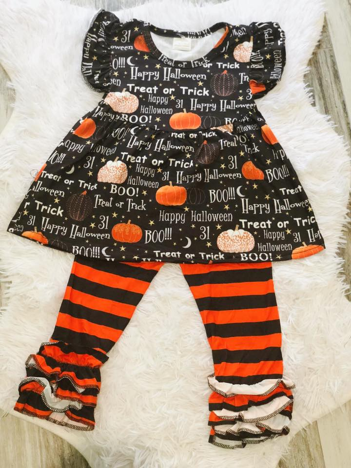 Halloween Saying Set - Nico Bella Boutique