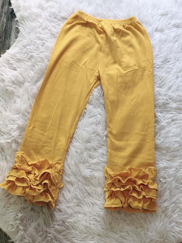 Mustard Icing Pants - Nico Bella Boutique