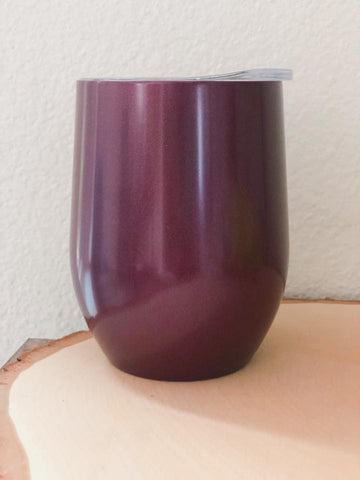 Plum Wine Cup - Nico Bella Boutique