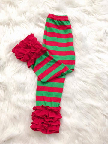 Christmas Stripe Icing Pants - Nico Bella Boutique