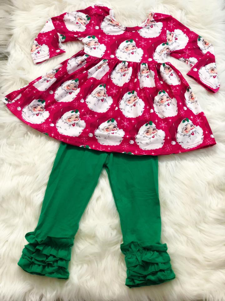 Christmas Vintage Santa Set - Nico Bella Boutique
