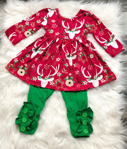 Deer Boho Christmas Set - Nico Bella Boutique