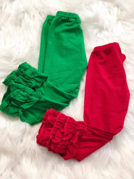Christmas Green Icing Pants - Nico Bella Boutique