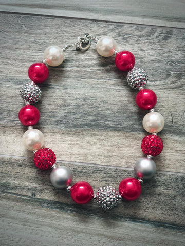 Winter Bubblegum Necklace - Nico Bella Boutique