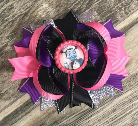 Vampirina Hair Bow - Nico Bella Boutique