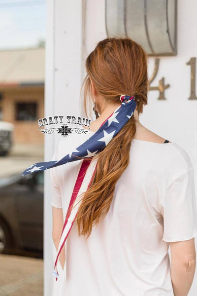Starwest Headscarf Stars & Stripes - Nico Bella Boutique