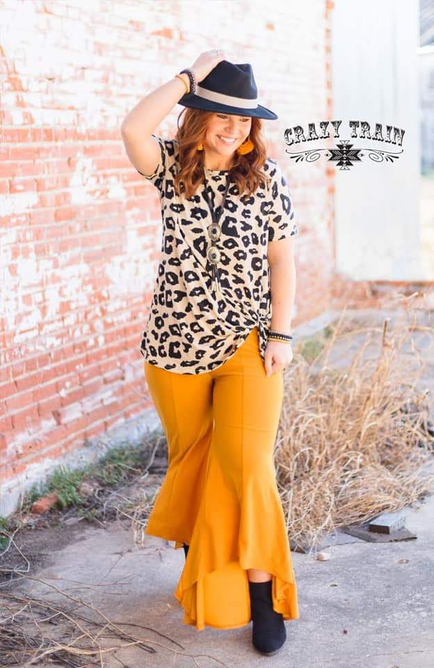 Mustard Paltrow Pant - Nico Bella Boutique
