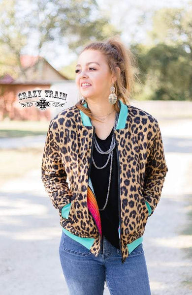 Chimmi Change Up Reversible Bomber Jacket - Nico Bella Boutique