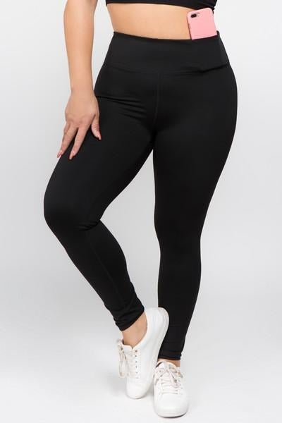 Black Workout Pants - Nico Bella Boutique