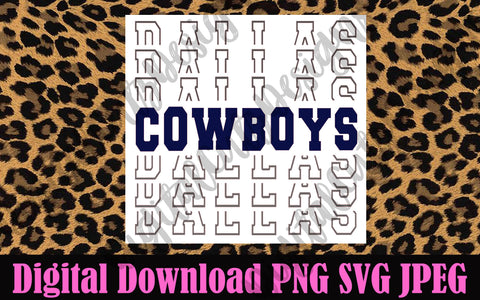 Dallas Cowboys SVG PNG JPEG