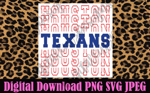 Houston Texans SVG PNG JPEG