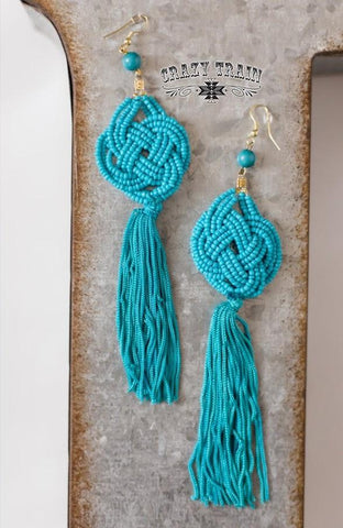 Turquoise Cattywampus Earrings - Nico Bella Boutique