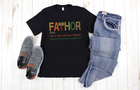 MENS FATHOR GRAPHIC TEE - Nico Bella Boutique