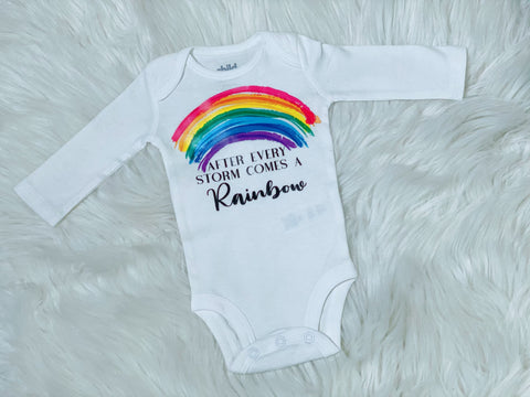 Rainbow Baby Onesie - Nico Bella Boutique
