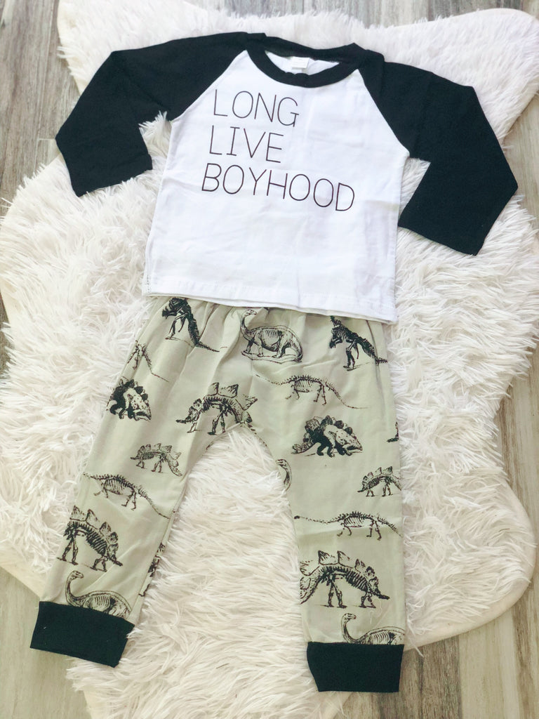 Long Live Boyhood Set - Nico Bella Boutique