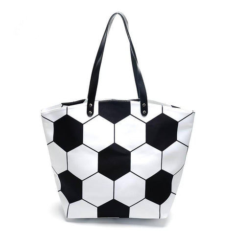 Soccer Tote Bag Purse - Nico Bella Boutique