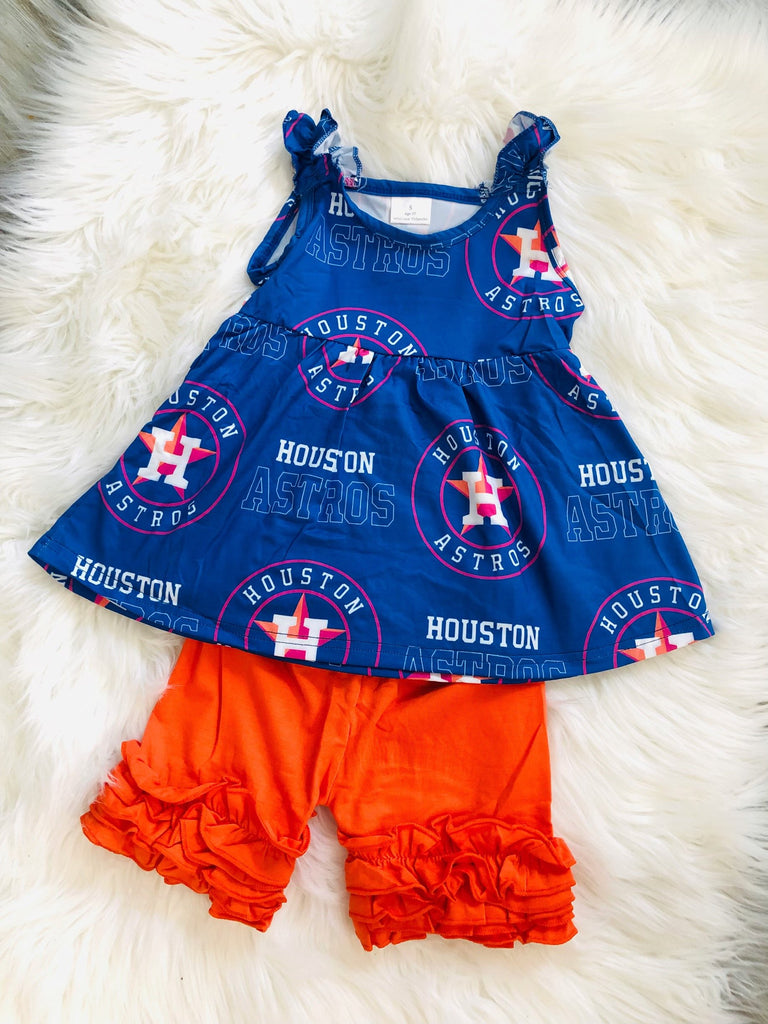 Houston Astros Short Set - Nico Bella Boutique