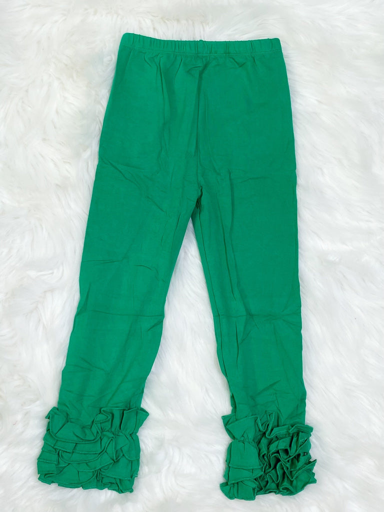 Green Icing Pants - Nico Bella Boutique