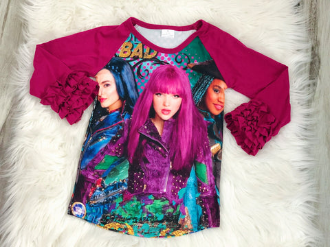 Descendants Icing Raglan - Nico Bella Boutique