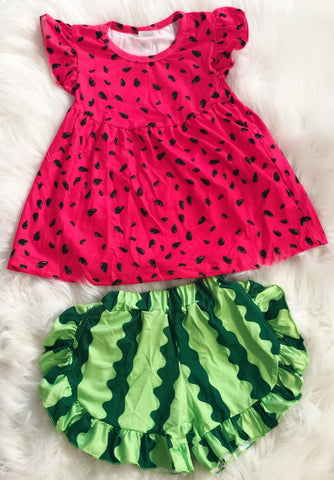 Watermelon Short Set - Nico Bella Boutique