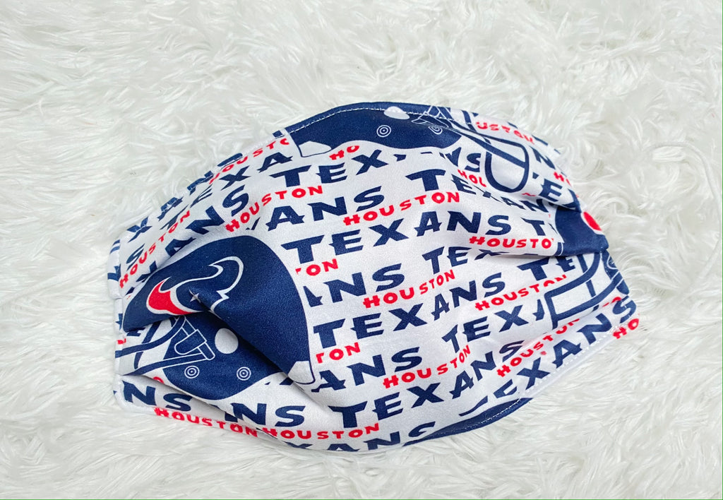 Adult Houston Texans Face Mask - Nico Bella Boutique
