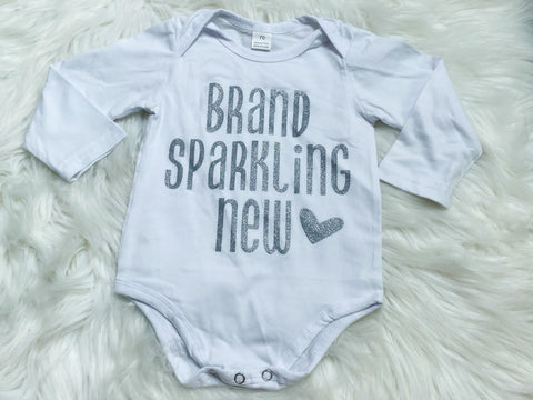 Brand Sparkling New Onesie - Nico Bella Boutique