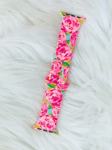 Rose i-Watch Band - Nico Bella Boutique