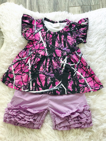 Muddy Girl Short Set - Nico Bella Boutique