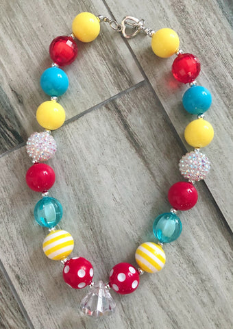 School Days Bubblegum Necklace - Nico Bella Boutique
