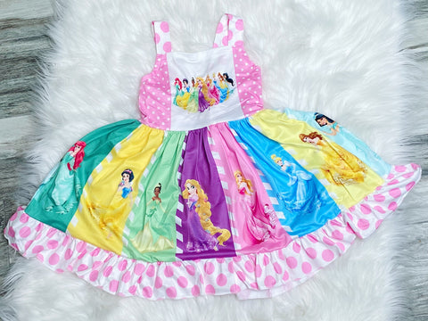 Ultimate Disney Princess Twirl Dress - Nico Bella Boutique