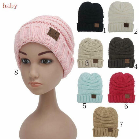 Plain Kids Beanie - Nico Bella Boutique