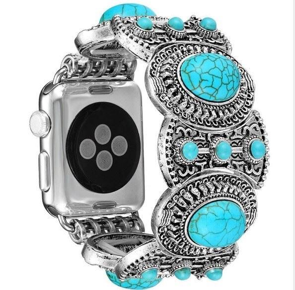 Turquoise Bracelet i-Watch Band - Nico Bella Boutique