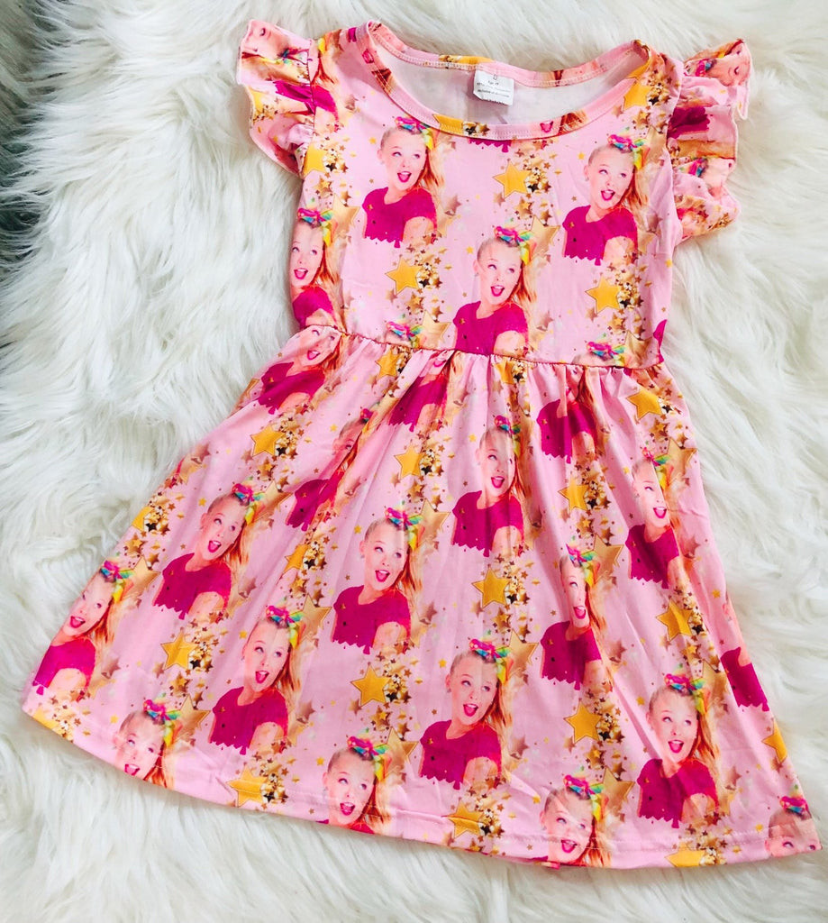 Jojo Siwa Pearl Dress - Nico Bella Boutique