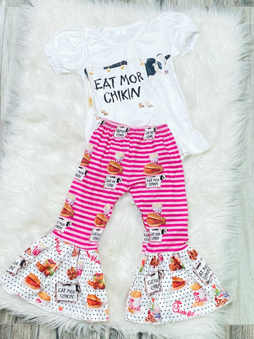 Chick-Fil-A Pant Set - Nico Bella Boutique