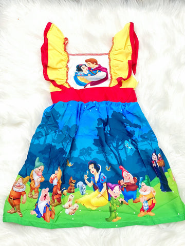 Snow White Princess Panel Dress