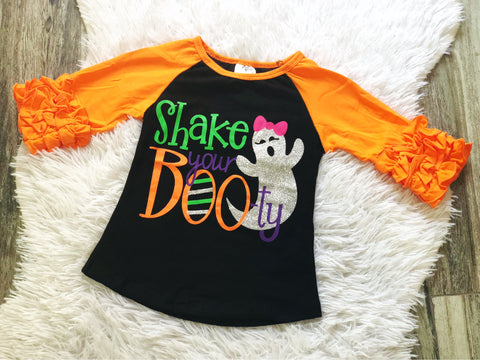 Shake Your BOOty Raglan - Nico Bella Boutique