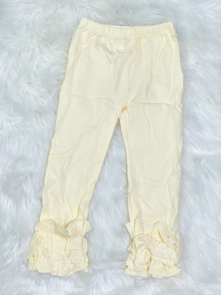 Ivory Icing Pants - Nico Bella Boutique