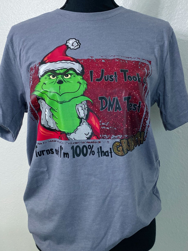 100% That Grinch Graphic Tee - Nico Bella Boutique