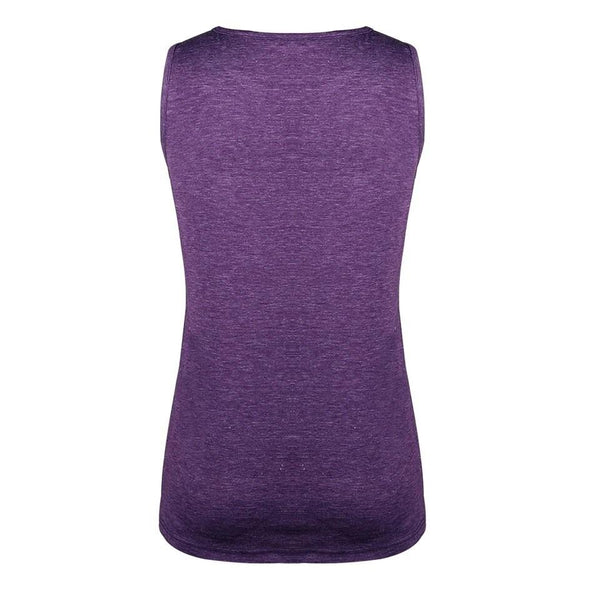 Purple Twist Hem Tank - Nico Bella Boutique
