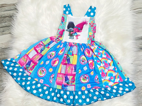 Ultimate Trolls Twirl Dress