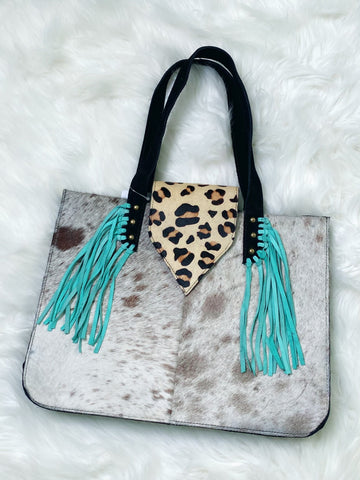 Texas Ranch Tote - Nico Bella Boutique